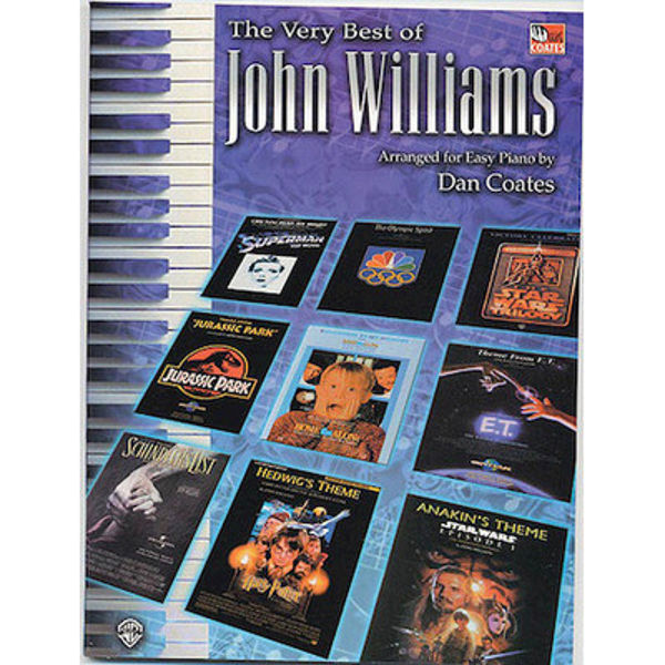 The Very Best of John Williams arranged for Easy Piano by Dan Coates