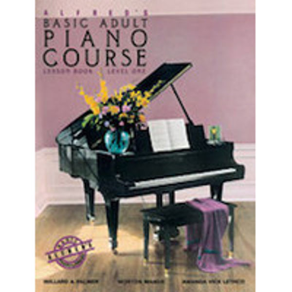 Alfreds Basic Piano Library Adult Course Lesson Bk/CD 1