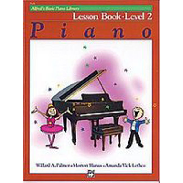 Alfreds Basic Piano Library Lesson book Level 2