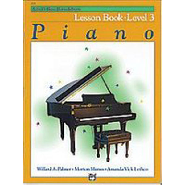 Alfreds Basic Piano Library Lesson book Level 3