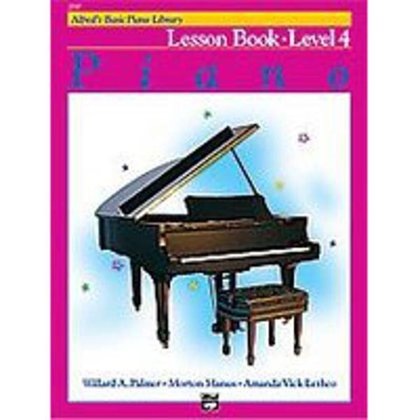 Alfreds Basic Piano Library Lesson book Level 4
