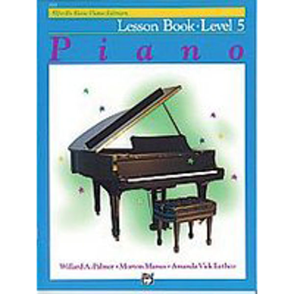 Alfreds Basic Piano Library Lesson book Level 5