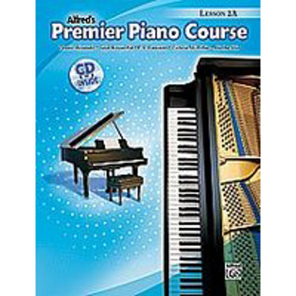 Alfreds Premier Piano Course Lesson 2A Bk/CD