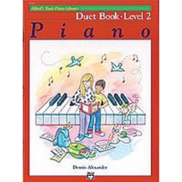 Alfreds Basic Piano Library Duet book level 2