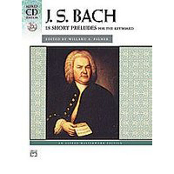 18 Short Preludes for the Keyboard (CD Edition), J.S. Bach - Piano