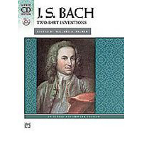 Two-Part Inventions (CD Edition), J.S. Bach - Piano