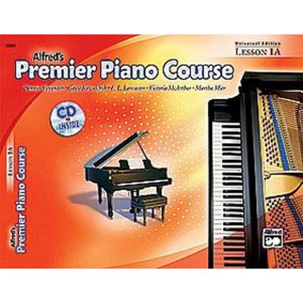 Alfreds Premier Piano Course Lesson 1A Bk/CD