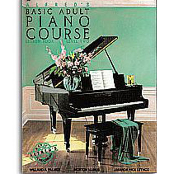 Alfreds Basic Piano Library Adult Course Lesson Book 2