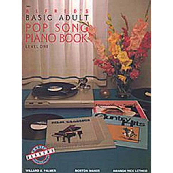 Alfreds Basic Piano Library Adult Pop Song Piano Book