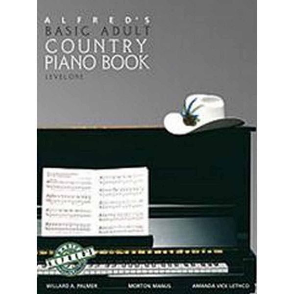 Alfreds Basic Adult Country Piano Book 1