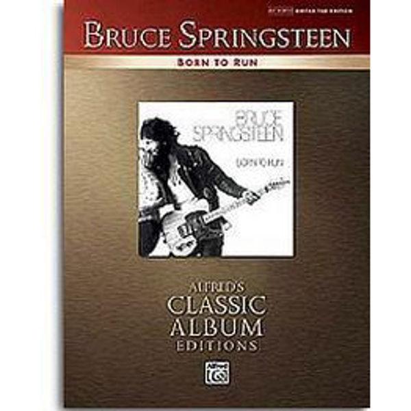 Born To Run, Bruce Springsteen - Guitar Tab Edition