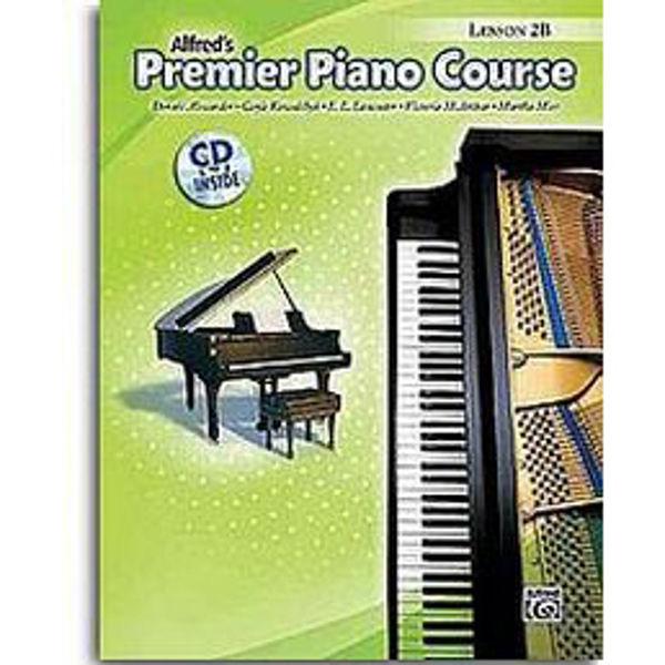 Alfreds Premier Piano Course Lesson 2B Bk/CD