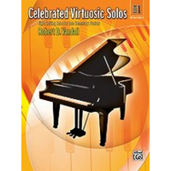 Celebrated Virtuosic Solos Book 1, Robert Vandall