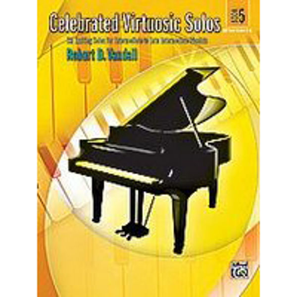 Celebrated Virtuosic Solos Book 5, Robert Vandall