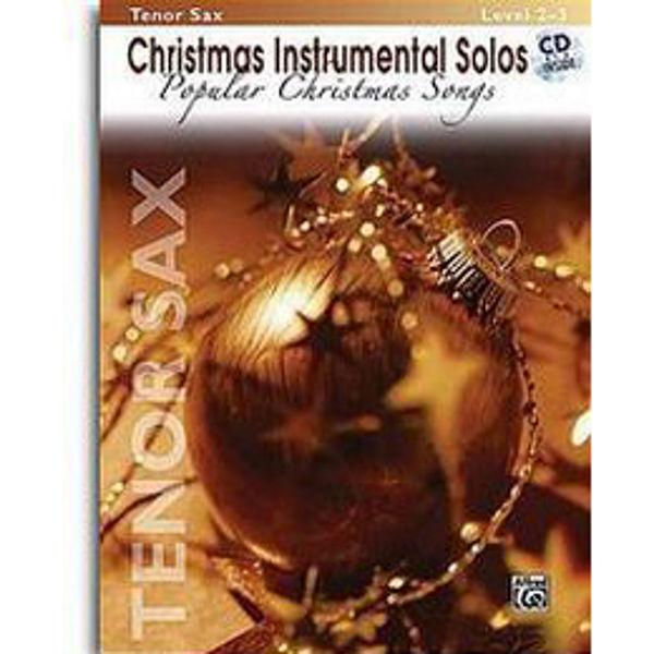 Christmas Instrumental Solos - Alt Saksofon Play-Along