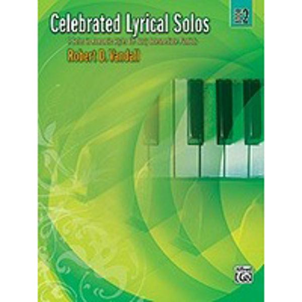 Celebrated Lyrical Solos Book 2, Robert Vandall