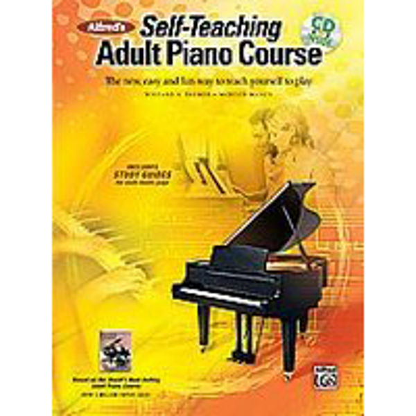 Alfreds Self-Teaching Adult Piano Course  Book/CD