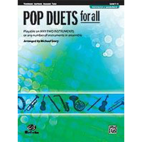 Pop duets for all Trombone/Euphonium/Bassoon/Tuba