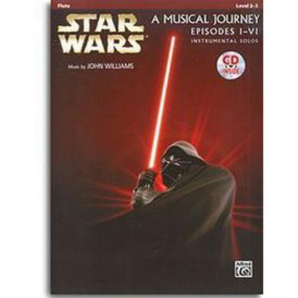 Star Wars Episodes I-VI  Instrumental Solos - Flute and CD