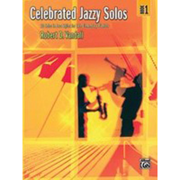 Celebrated Jazzy Solos Book 1, Robert Vandall