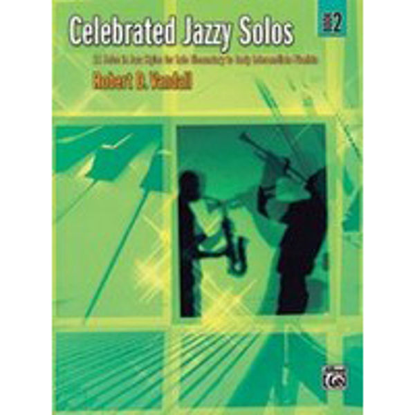 Celebrated Jazzy Solos Book 2, Robert Vandall
