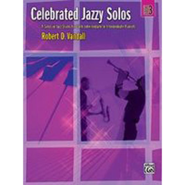 Celebrated Jazzy Solos Book 3, Robert Vandall
