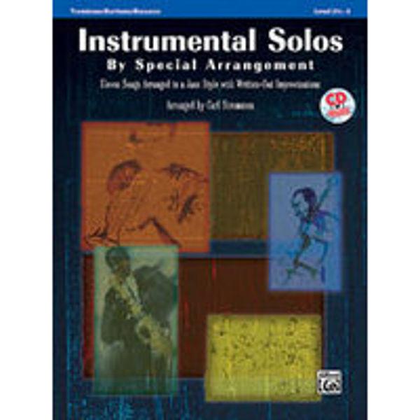 Instrumental Solos by Special Arrangement - Trombone m/cd