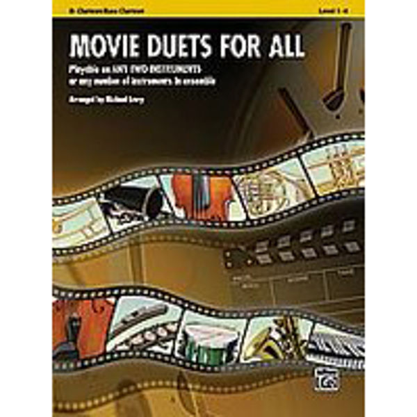 Movie duets for all Clarinet