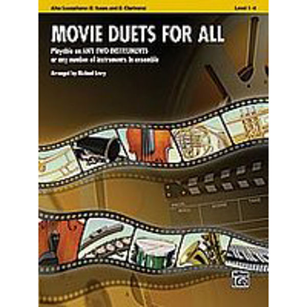 Movie duets for all Alt-Sax