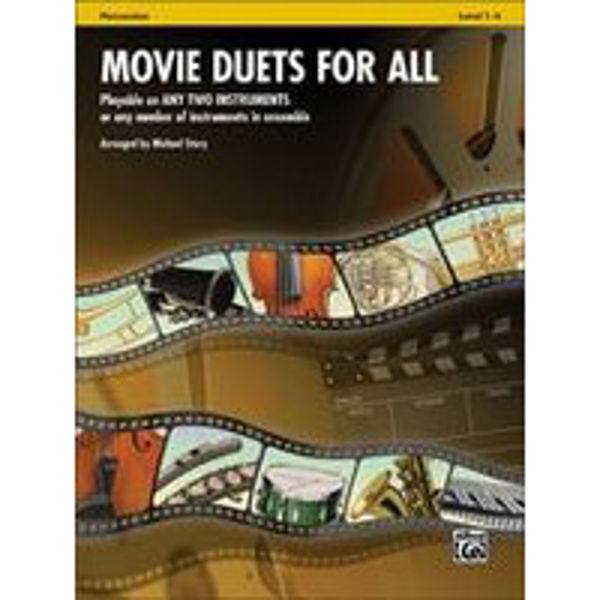 Movie duets for all Percussion