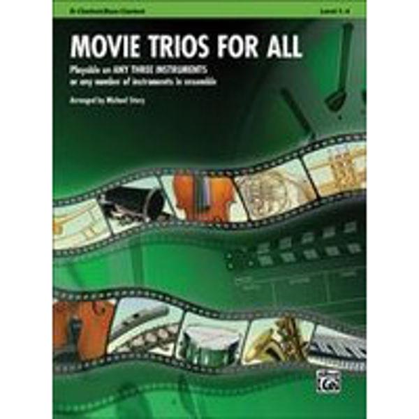 Movie trios for all Clarinet/Bass Clarinet