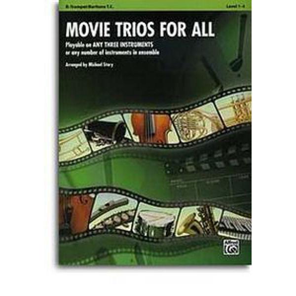 Movie trios for all Trumpet/Euphonium