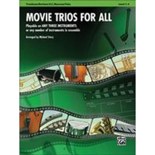 Movie trios for all Trombone/Euphonium/Bassoon/Tuba