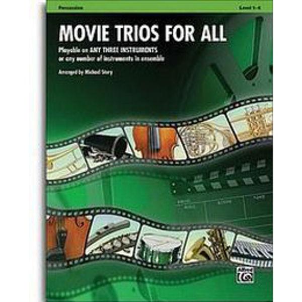 Movie trios for all Percussion