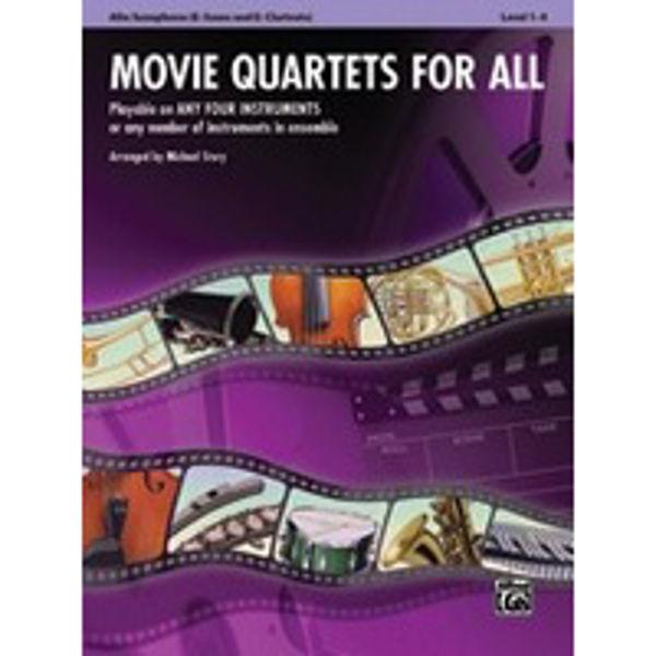 Movie quartets for all Alt-sax