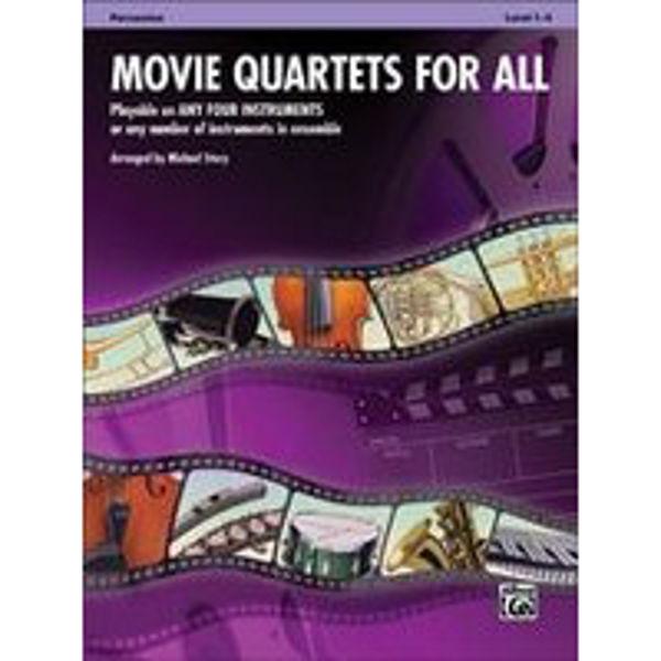 Movie quartets for all Percussion