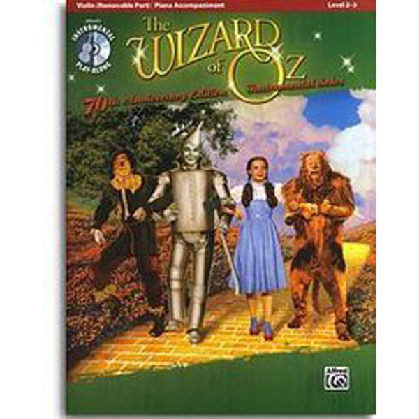 The Wizard of Oz - Fiolin m/cd