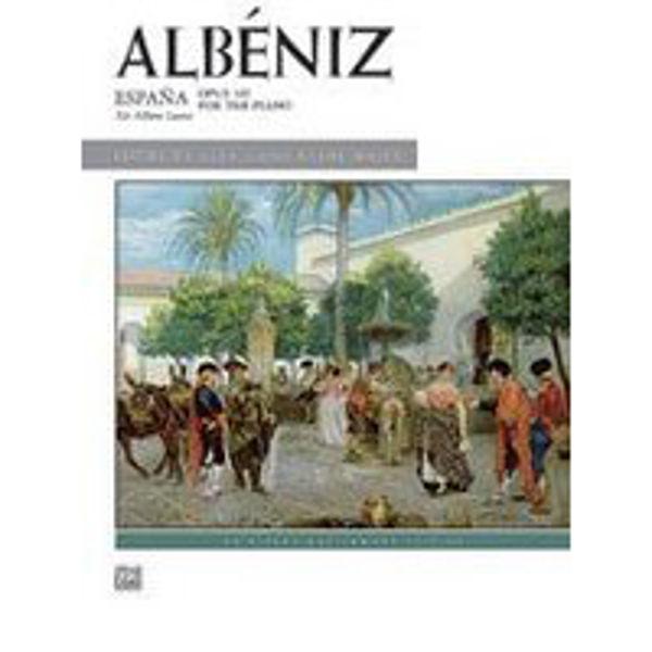 España - Opus 165,  Isaac Albéniz- Piano solo