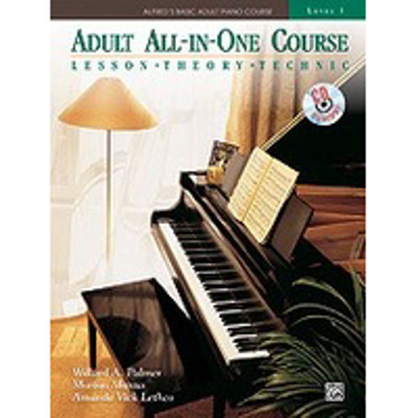 Alfreds Basic Piano Adult All-In-One Course Lesson Bk/CD 3