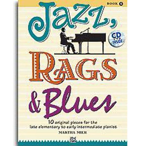 Jazz, Rags & Blues 1 m/cd. Martha Mier. Piano.