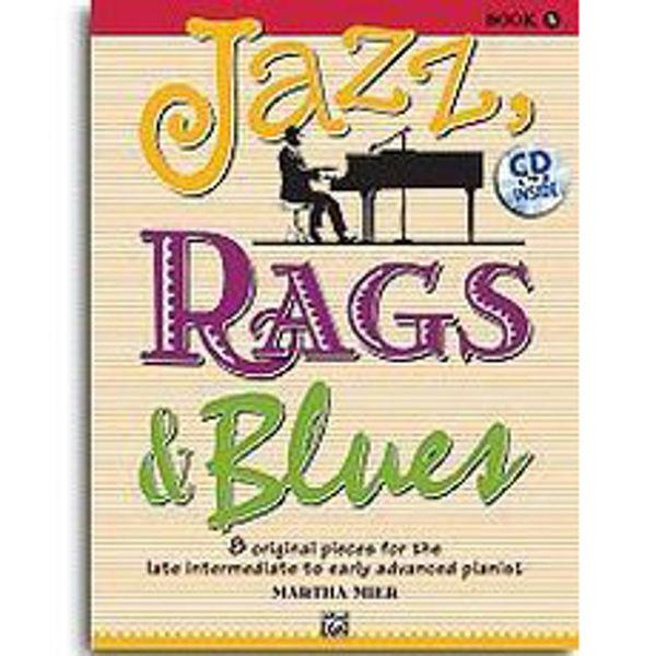 Jazz, Rags & Blues 5 m/cd. Martha Mier. Piano.