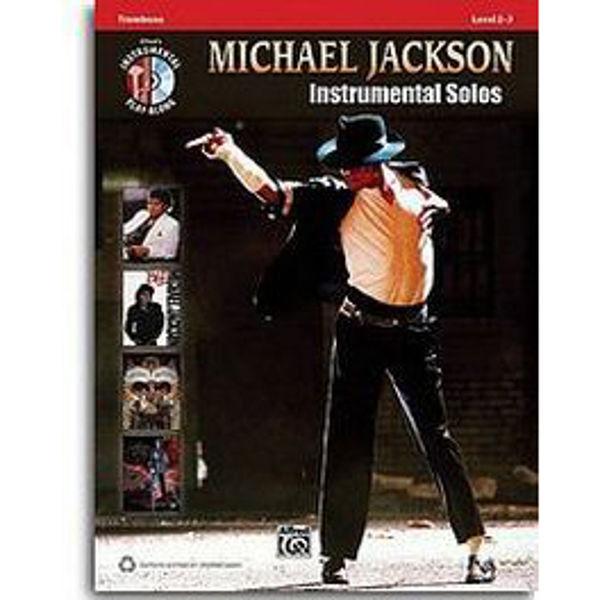 Michael Jackson Instrumental Solos Trombone m/cd
