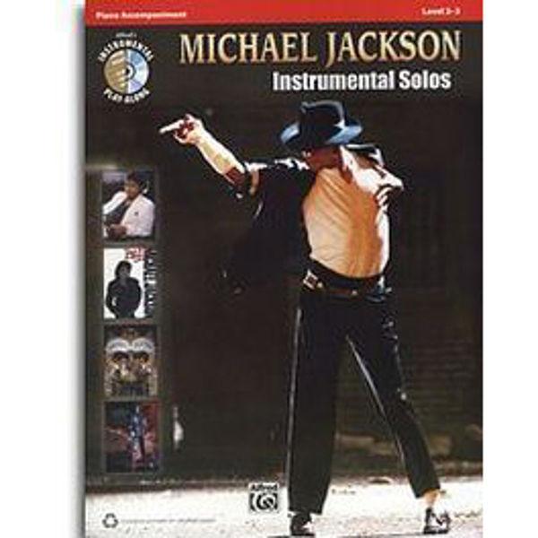 Michael Jackson Instrumental Solos Piano Accompaniment (level 2 - 3)