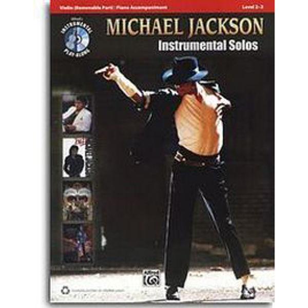 Michael Jackson  Instrumental Solos Fiolin/CD/Piano