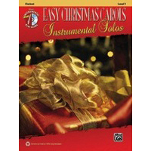 Easy Christmas Carols 1 Clarinet Play-Along
