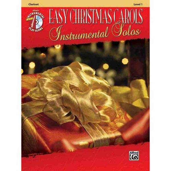 Easy Christmas Carols 1Ten-Sax Play-Along