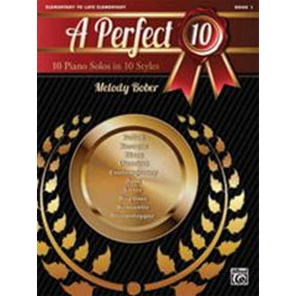 A Perfect 10, Book 1. 10 Winning Solos in 10 Styles