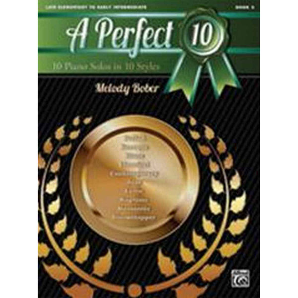 A Perfect 10, Book 2. 10 Winning Solos in 10 Styles