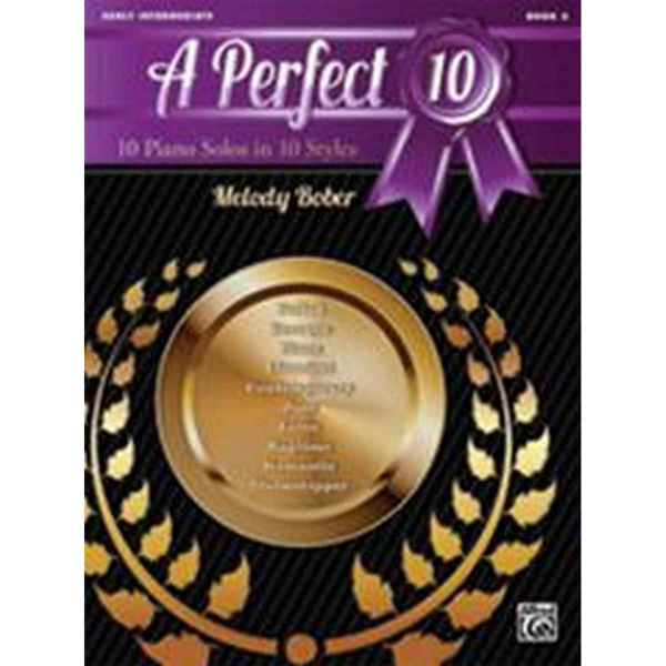 A Perfect 10, Book 3. 10 Winning Solos in 10 Styles