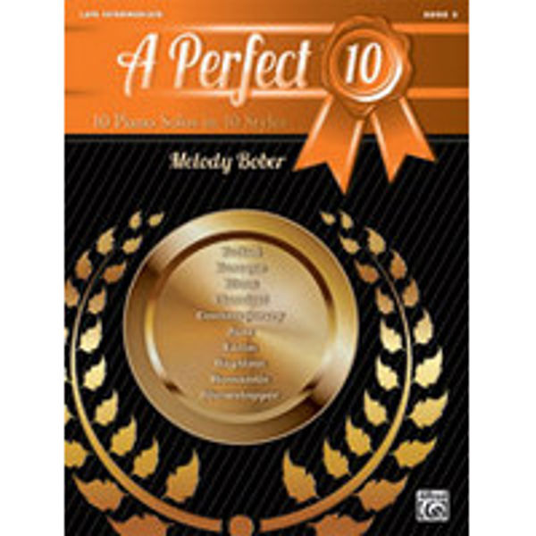 A Perfect 10, Book 5. 10 Winning Solos in 10 Styles
